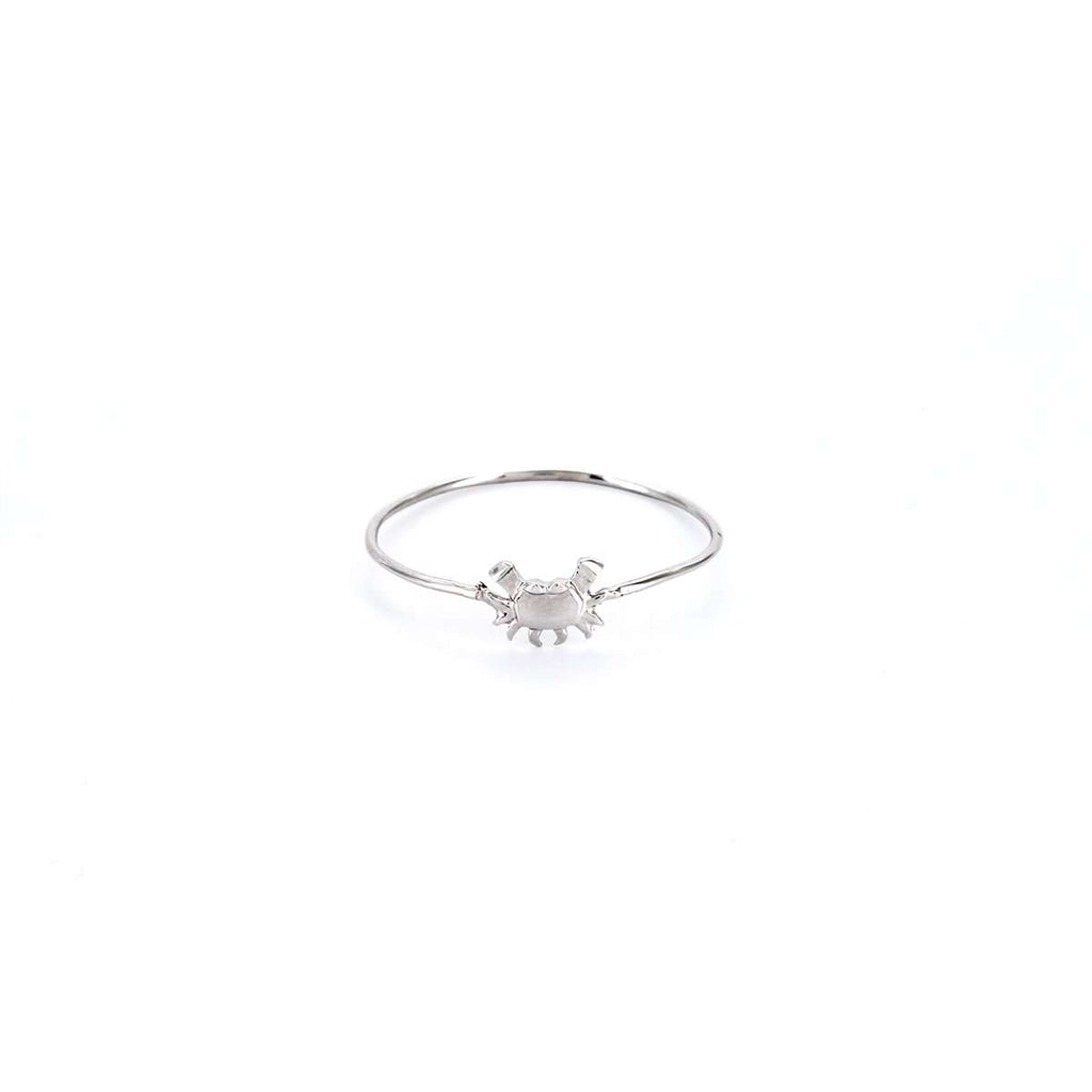 The Crab Silver Stacking Ring