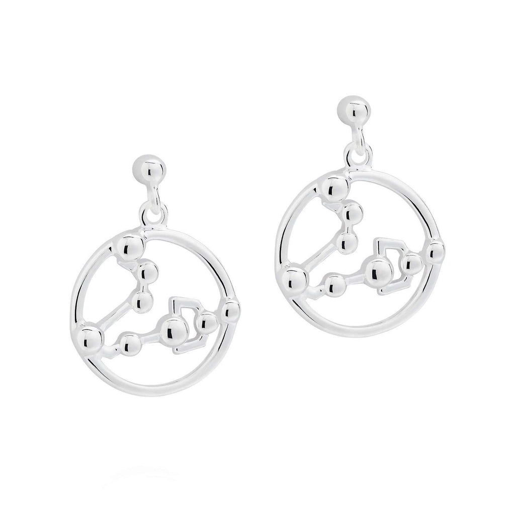 Pisces Astrology Drop Studs - Yasmin Everley Jewellery - THE POMMIER - 1