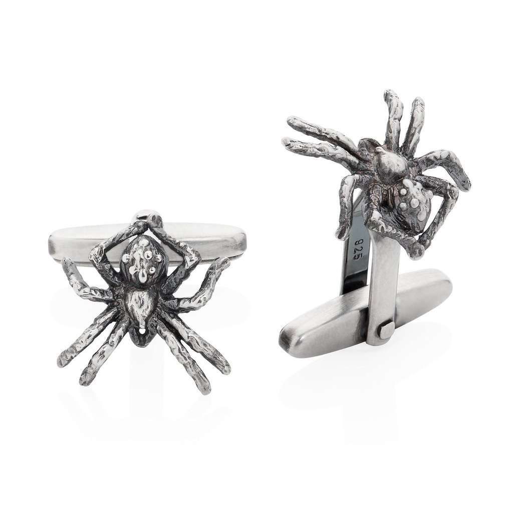 Little Spider Cufflinks - Yasmin Everley Jewellery - THE POMMIER