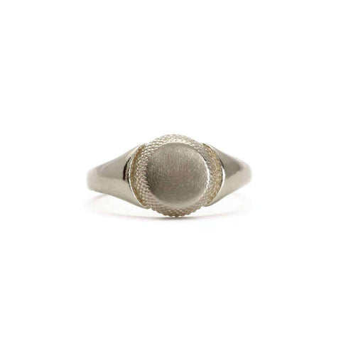 Maxilla Sterling Silver Open Ring