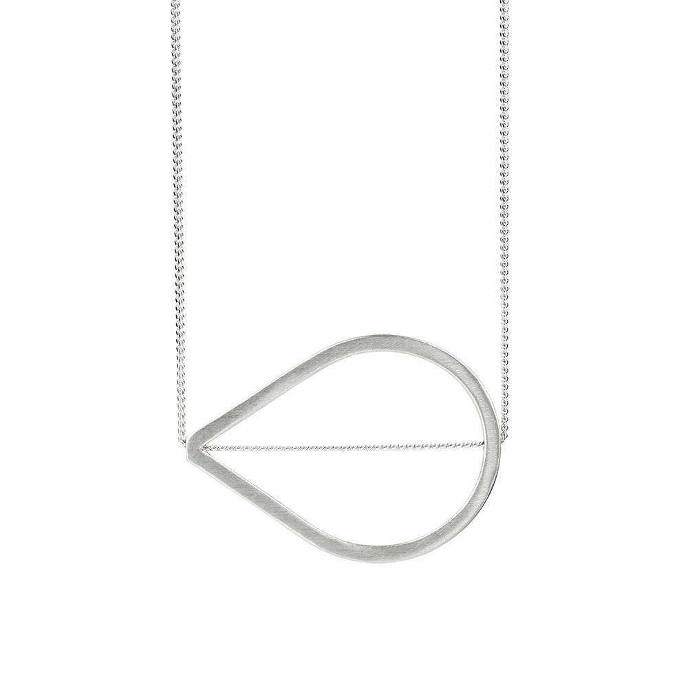Teardrop Necklace - Rhiannon Lewis Jewellery - THE POMMIER - 1