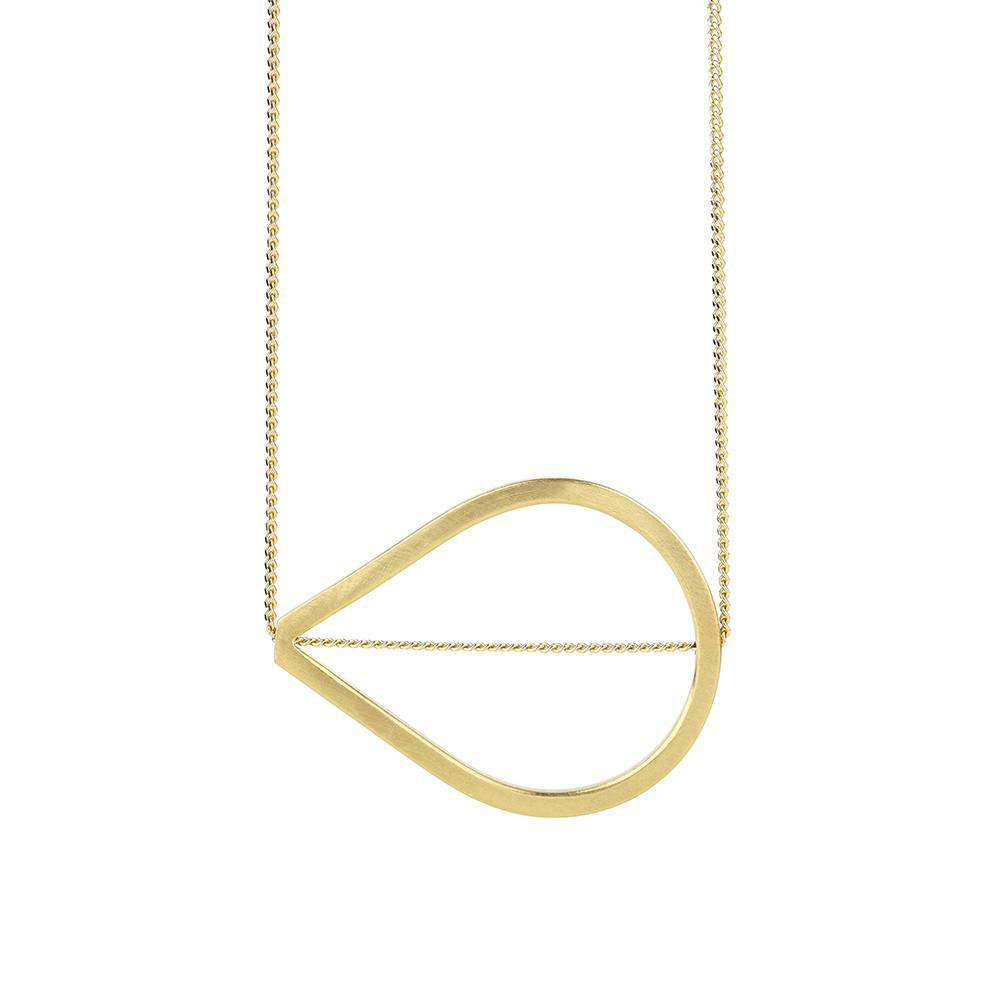 Teardrop Necklace - Rhiannon Lewis Jewellery - THE POMMIER - 2