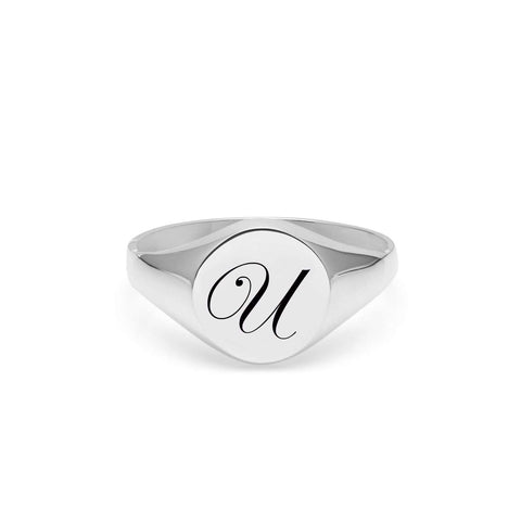 Paragon Sterling Silver Signet Ring