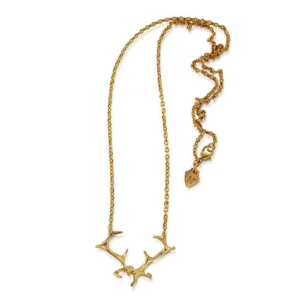 Antler Necklace - Hjalte Jewellery - THE POMMIER - 3