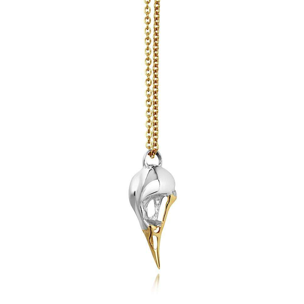 Yellow Gold Bird - Hjalte Jewellery - THE POMMIER - 4