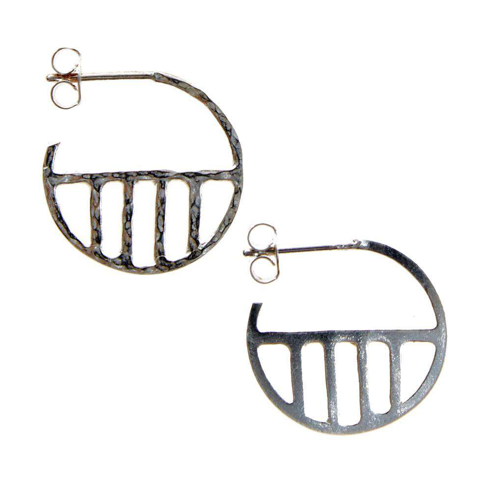 Eclipse Hoop Earrings