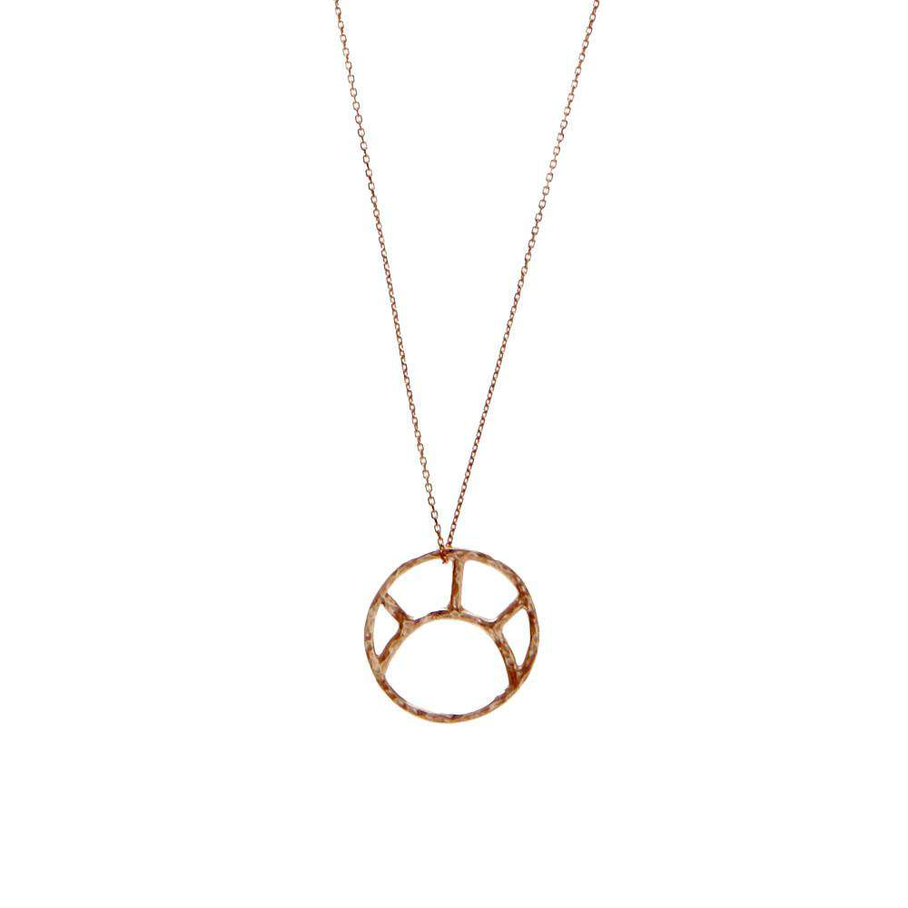Rose Gold Soleil Necklace