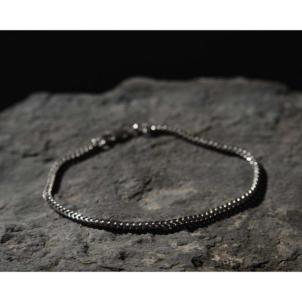 Sterling Silver Franco Chain Type Bracelet