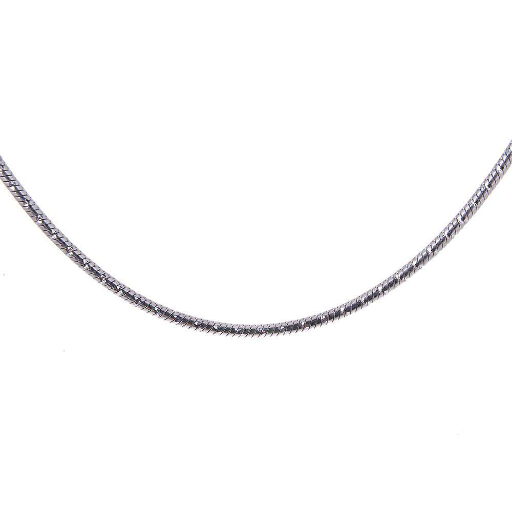 Sterling Silver Type Magic Diamond Necklace