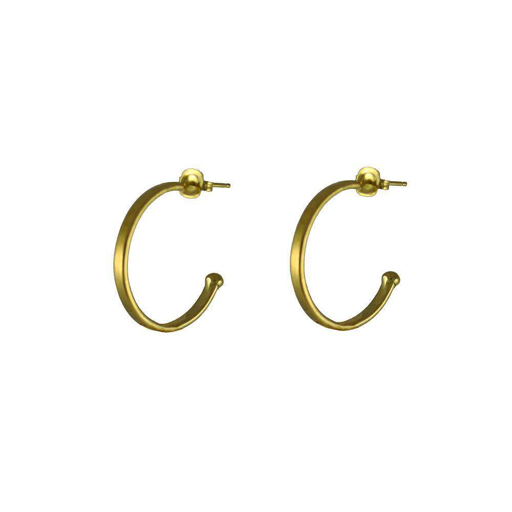 Spectrum Charm Hoops Gold