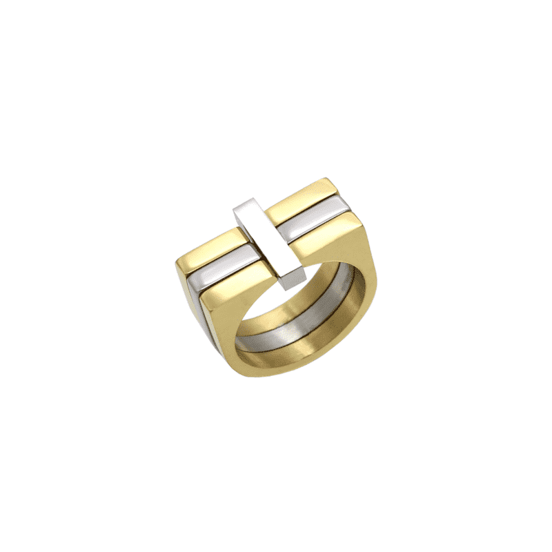 Tier 3 Two Tone Ring