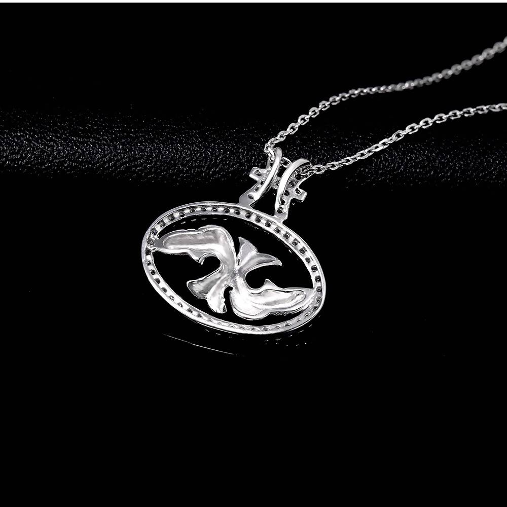 Constellation Pisces Pendant in 925 Sterling Silver