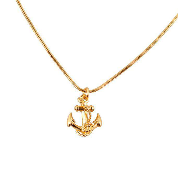 Anchor Necklace - Roz Buehrlen - THE POMMIER - 2
