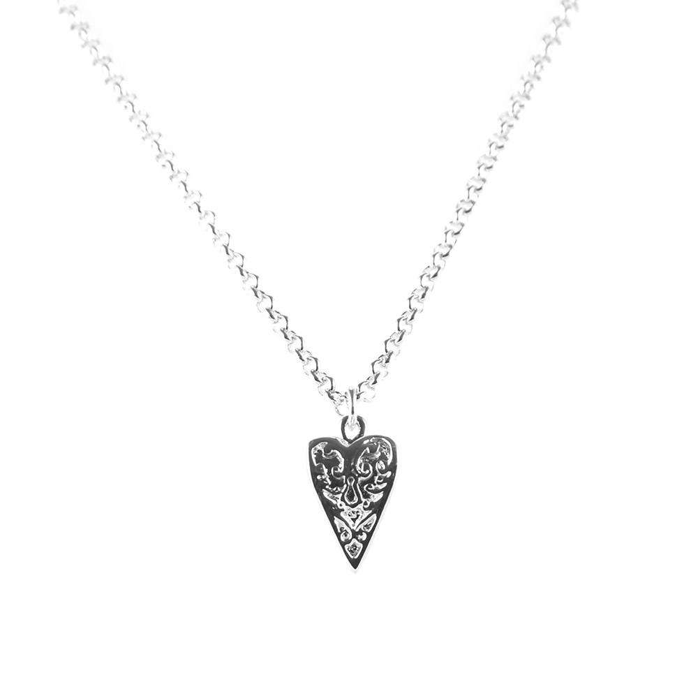 Heart Necklace - Roz Buehrlen - THE POMMIER - 2