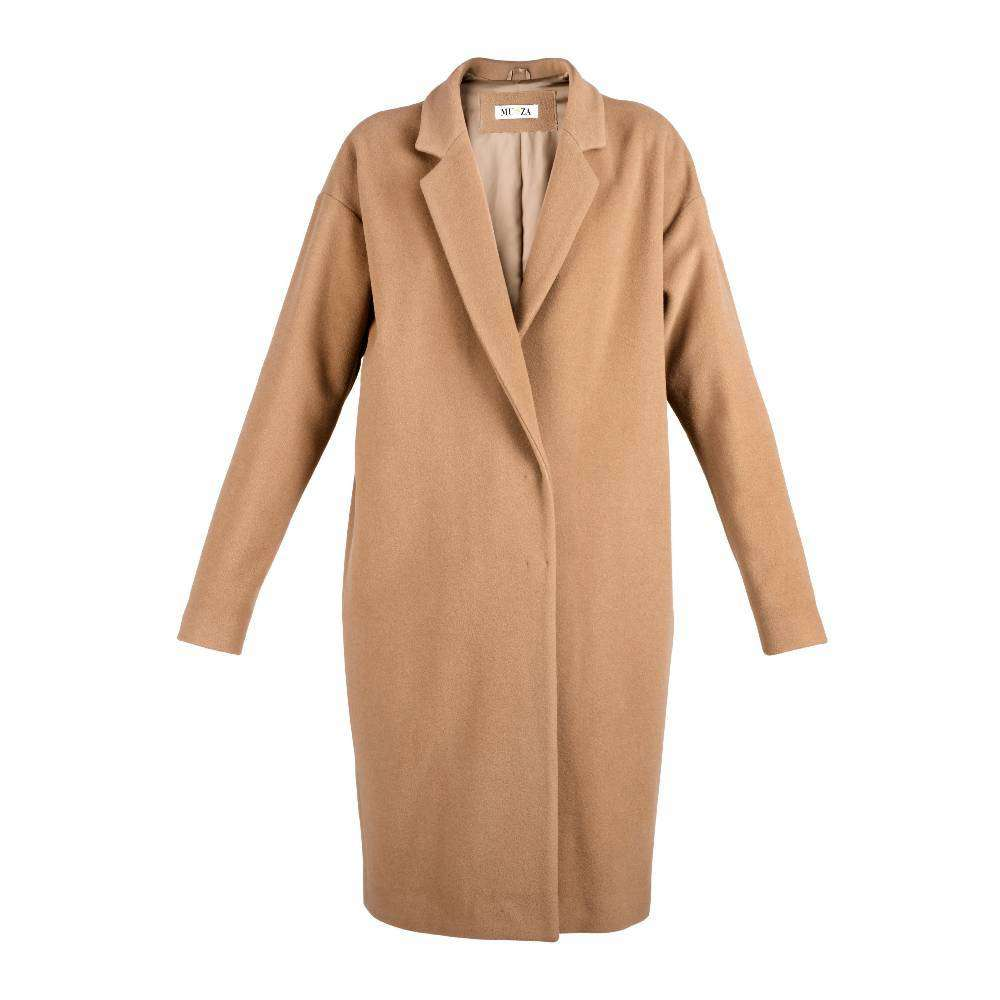 Cocoon Camel Wool & Cashmere Coat