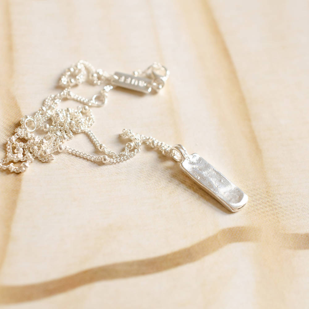 Moon River Bar Necklace