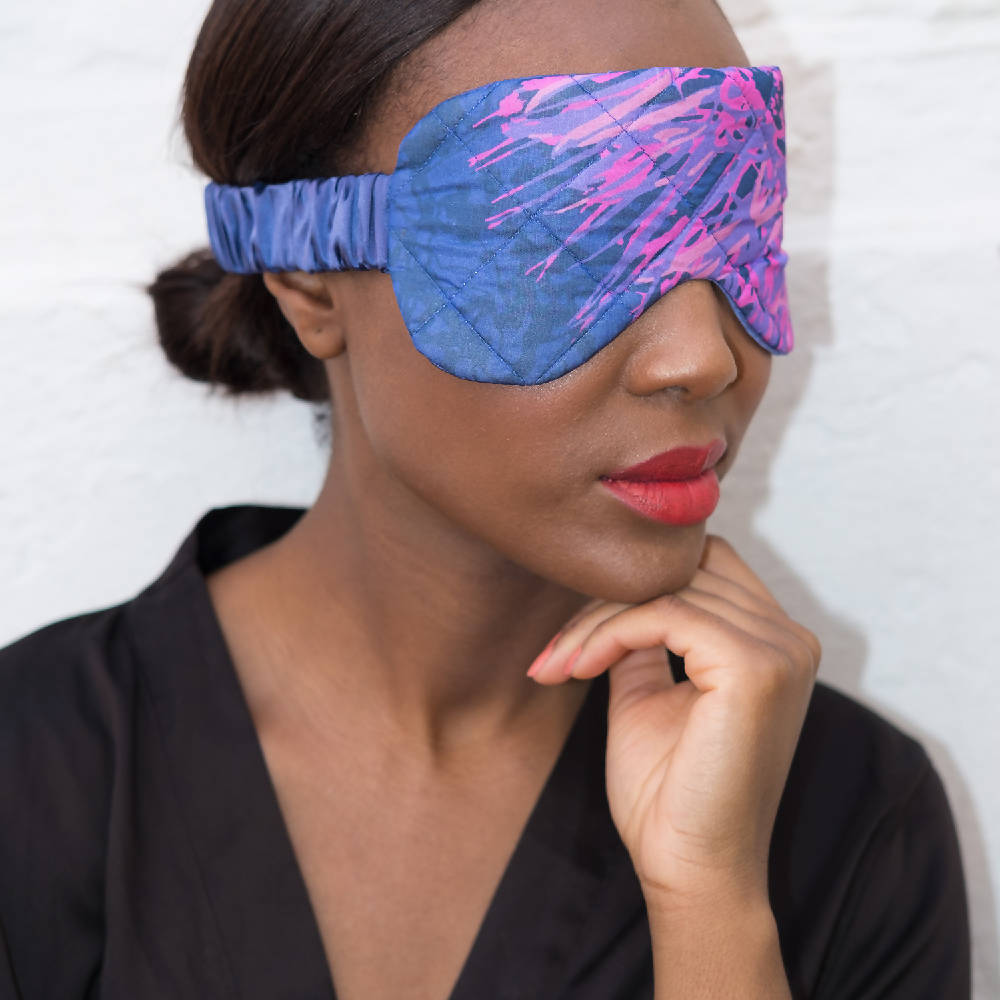 And God Created Woman Silk Eye mask