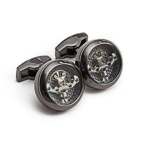 Hour Glass Cuff Links