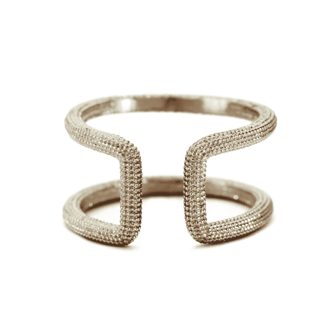 Hammered Ring Sterling Silver