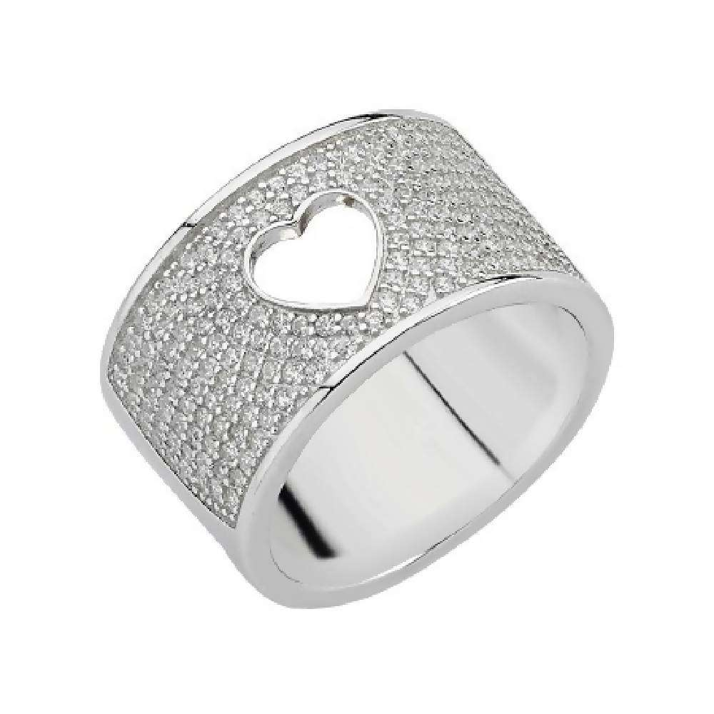 Signature Ring 925 Sterling Silver - 05 Silver Cvnt