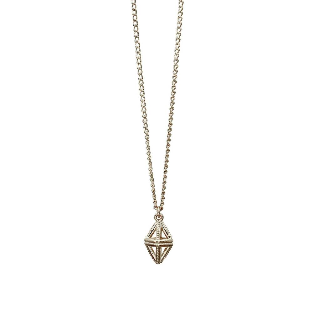 Mysid Sterling Silver Pendant Necklace