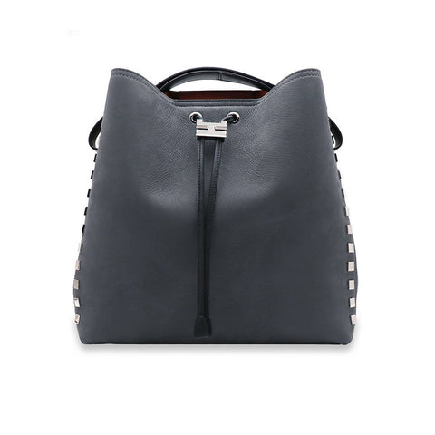 Canie Small Black Leather