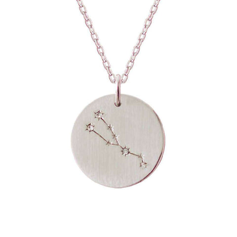 Helm Of Awe Sterling Silver Necklace With Xsmall Charm