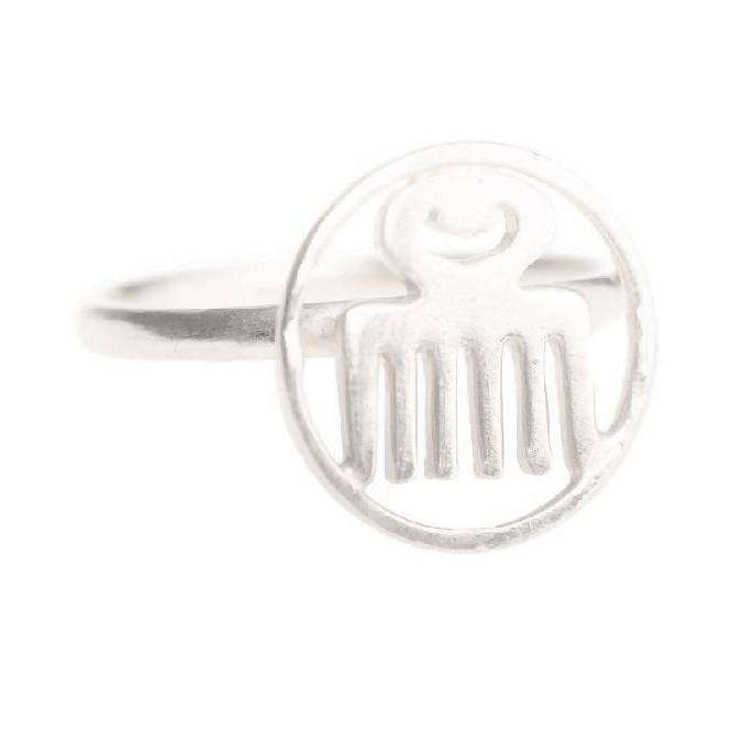 Beauty Adinkra Ring