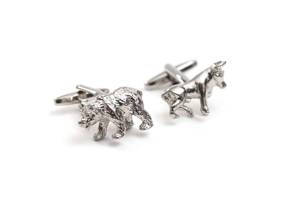 Bull & Bear Cuff Links
