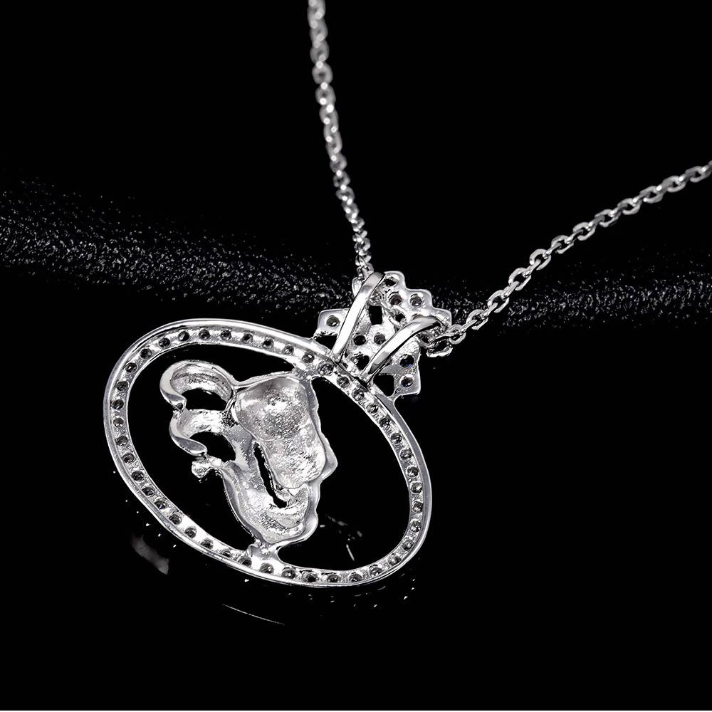 Constellation Aquarius Pendant in 925 Sterling Silver