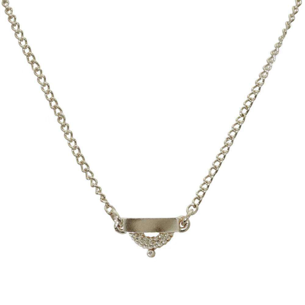 Pectus Sterling Silver Necklace