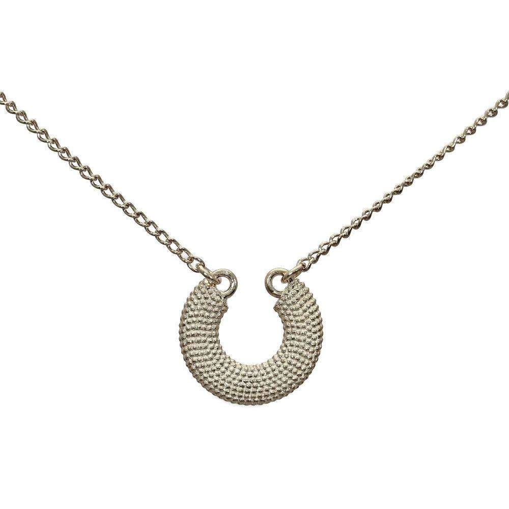Weol Sterling Silver Lucky Horseshoe Necklace