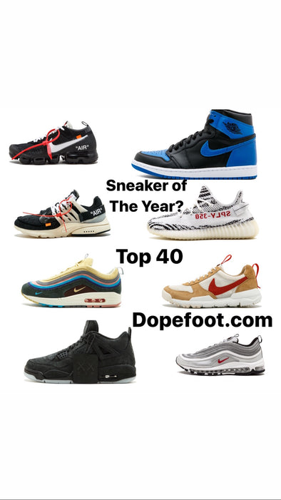 The Best Sneakers of 2017 - Top 40