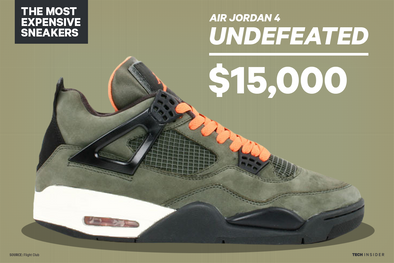 5 Sneakers That Cost More Than $10,000