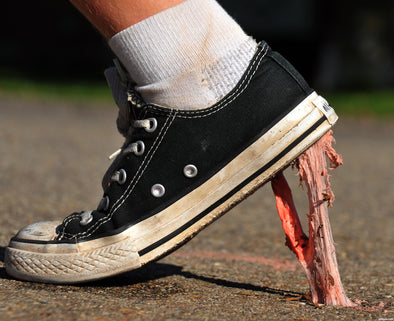 Quick & Easy Ways To Get Gum Off Sneakers