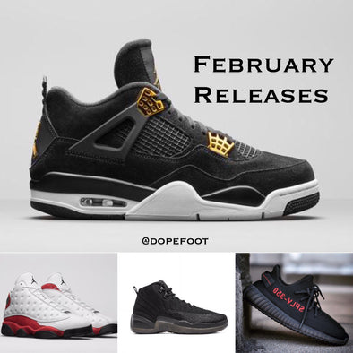 Best Sneaker Releases in February 2017