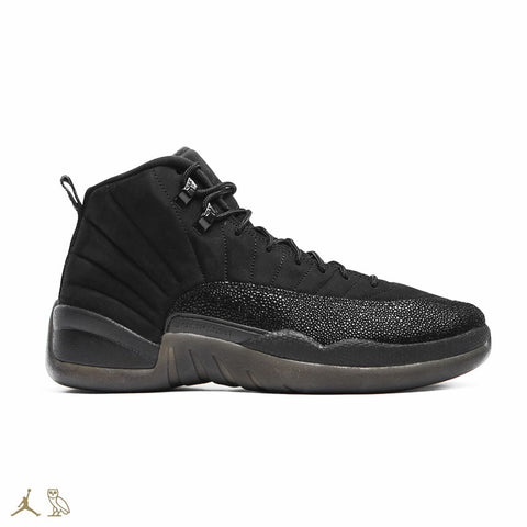 newest collection da319 6734d ... Name  Air Jordan 12 XII OVO Black ...