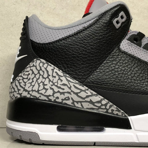half off dcfd4 ede91 Jordan 3 Retro OG Black Cement 2018 Real vs Fake Guide ...