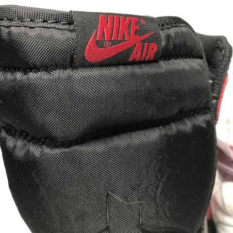Jordan 1 Bred Banned 2016 Real Vs Fake Tongue