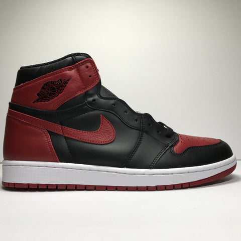 Jordan 1 Bred Banned 2016 Real Vs Fake