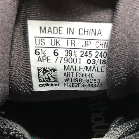 Adidas Yeezy 500 Utility Black Size Tag - Legit Check Real vs Fake