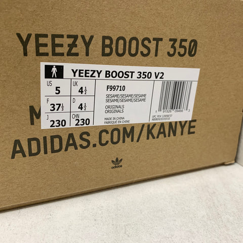 excellent quality best service order Adidas Yeezy Boost 350 v2 Sesame Real vs Fake Guide - Photos ...