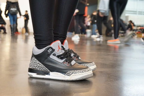 Sneaker: Nike Air Jordan 3 Black Cement