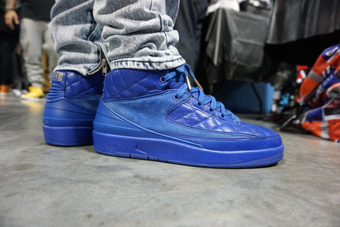 Sneaker: Nike Air Jordan 2 Just Don Blue