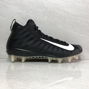Nike Alpha Menace Pro Mid TD PF 010 Men'sFootball Cleats Size 11.5/Size 12 Black