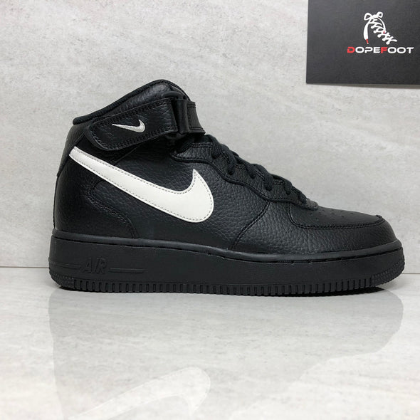 Nike Men's Air Force 1 Mid '07 Black/Sail Size 7/7.5/Size 8.5