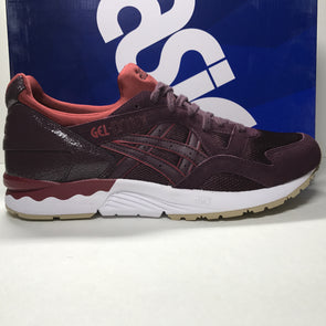 DS Asics Gel Lyte V Leather Rioja Red Size 10.5 - DOPEFOOT  - 1