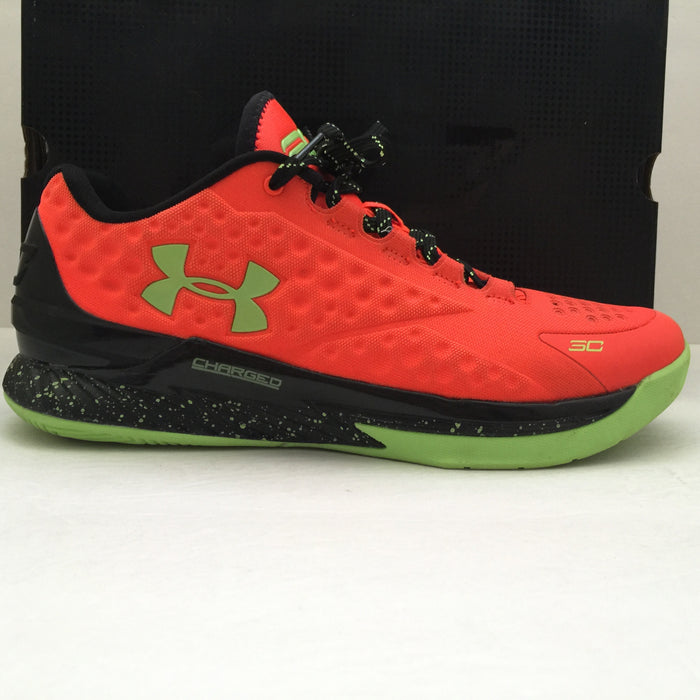 Under Armour Curry One Bolt Orange Size 10 - DOPEFOOT  - 1