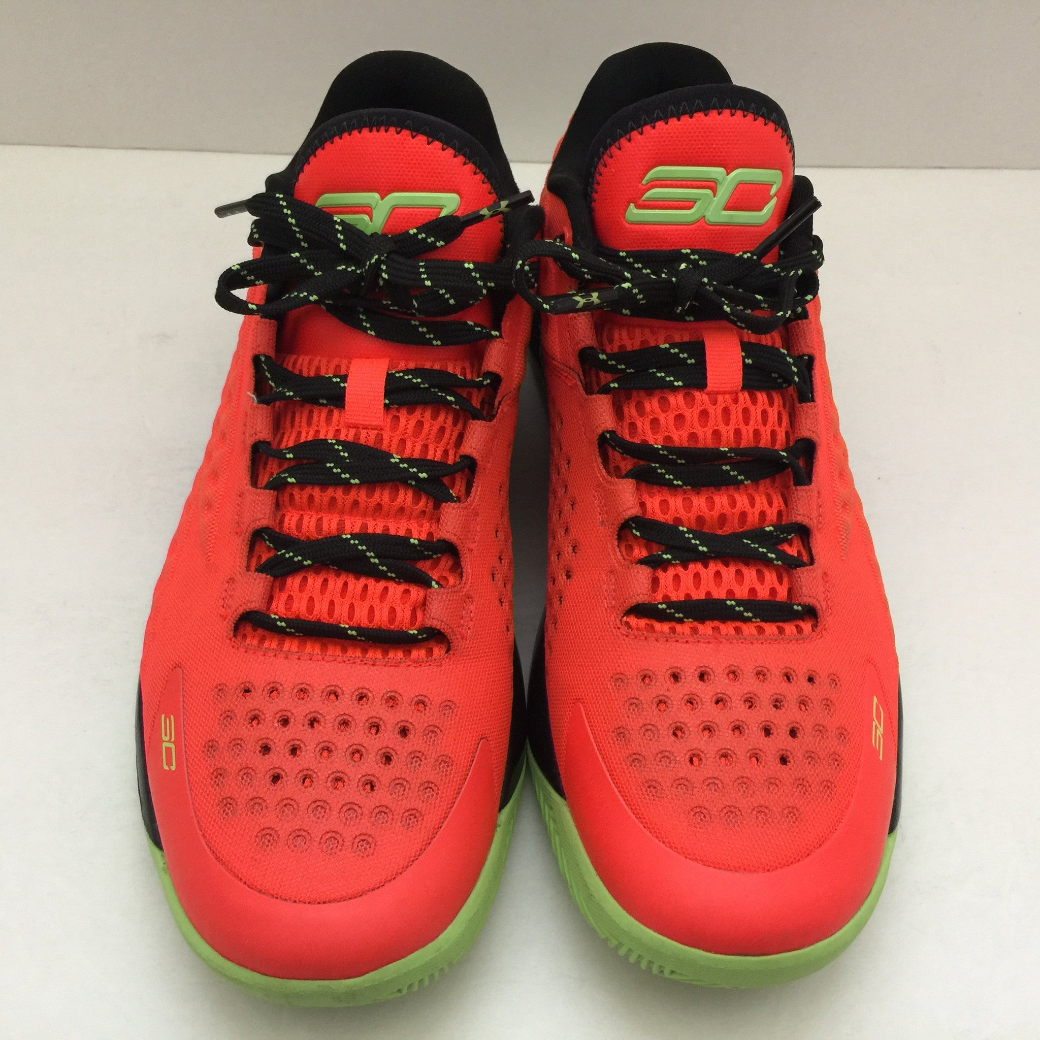 Under Armour Curry One Bolt Orange Size 10 - DOPEFOOT  - 4