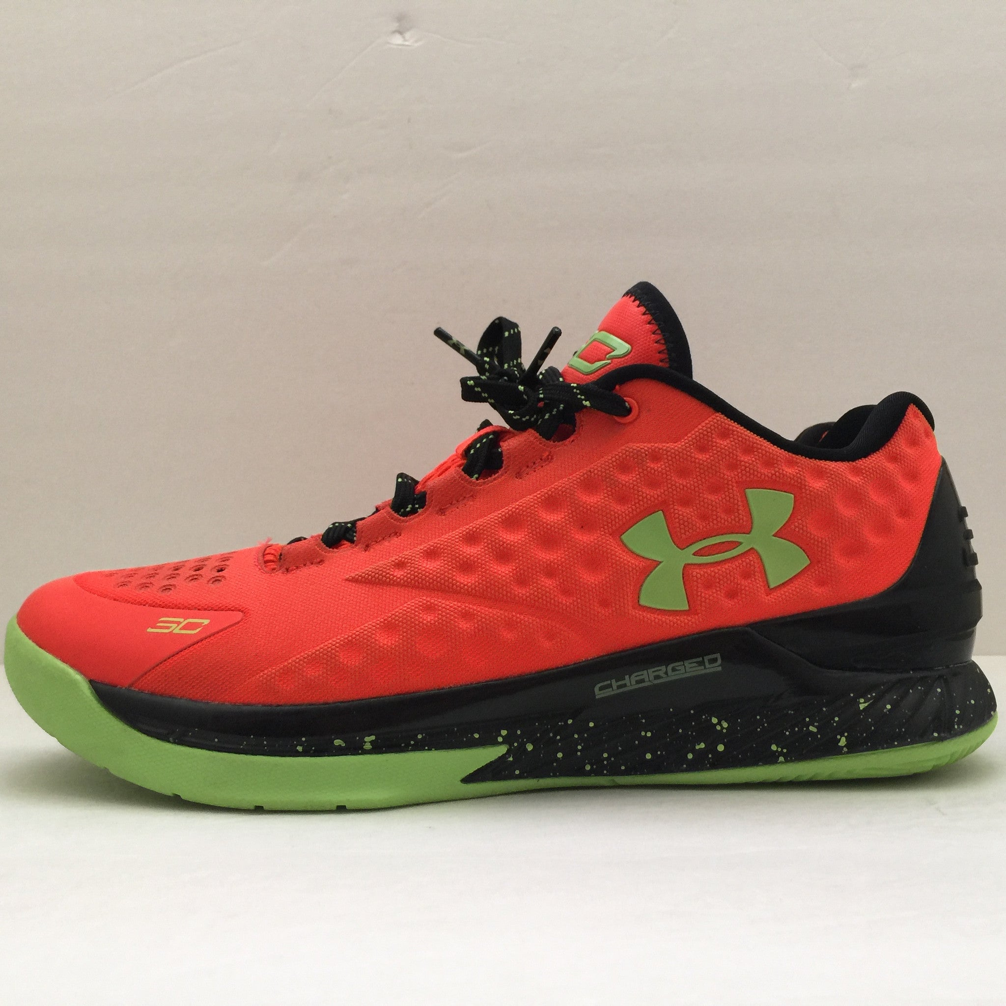 Under Armour Curry One Bolt Orange Size 10 - DOPEFOOT  - 6